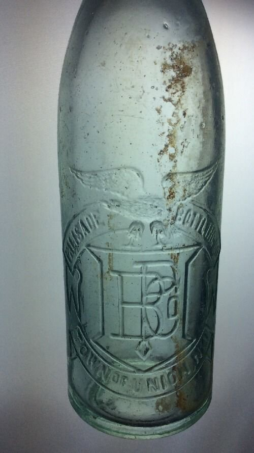 Palisade Bottling Company Bottle Town Of Union New Jersey NJ Antique Vintage