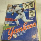 1987 New York Yankees scorebook&souvenir program~Rickey Henderson~Boston Red Sox