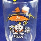 Ziggy Here's To Good Friends 7up 7-up Soda collector Series Glass vintage 1977