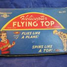 Strauss Mechanical Toys Helicopter Flying Top vintage toy No 50 in box