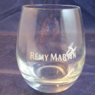 Remy Martin rounded low ball cocktail snifter glass glasses