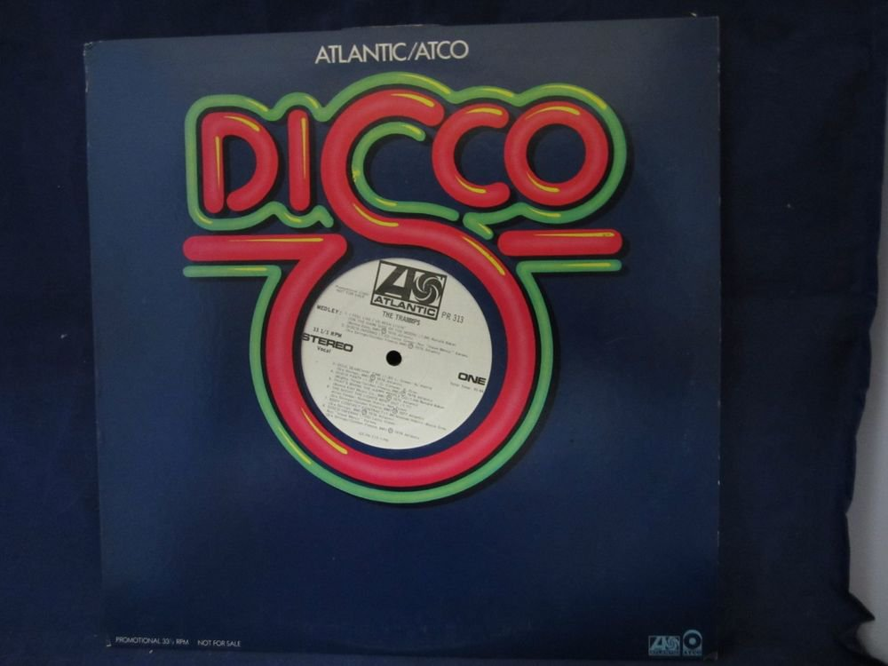 The Trammps DJ/Promo vintage vinyl/record/LP~Atlantic Disco PR 313~FREE US SHIP