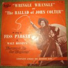 Fess Parker~Walt Disney's Westward Ho the Wagons record~Disneyland Records