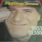 vintage Dustin Hoffman cover Rolling Stone newspaper magazine February 3 1983