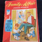 Family Affair Jigsaw Puzzle Vintage 1970 Televison Toy Mrs Beasley TV Complete
