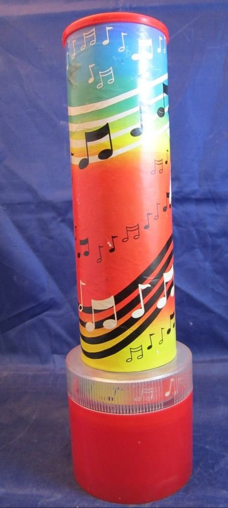vintage Skilcraft musical Kaleidoscope plays It's A Small World Sanyo wind-up