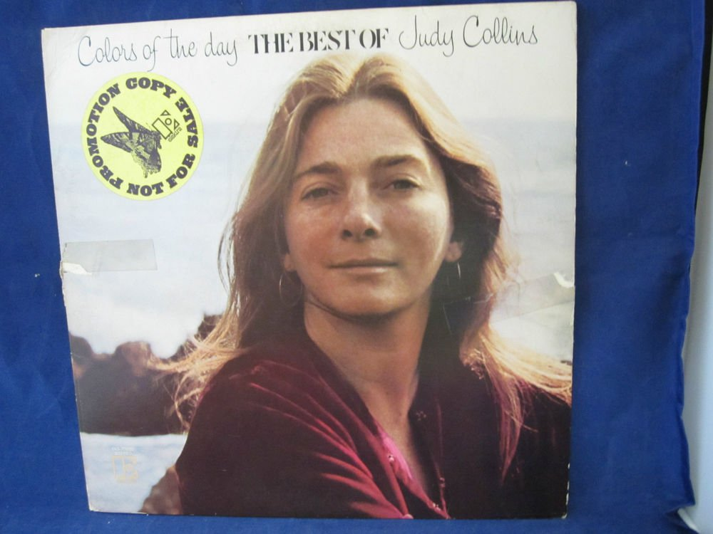 Judy Collins COLORS OF THE DAY: THE BEST OF JUDY COLLINS vintage vinyl/reco