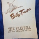 vintage Ballet Theatre Playbill program November 7 1946 at the Broadway Threater