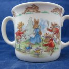 Bunnykins Royal Doulton 2 handle cup double-handled baby mug