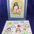 2 Cartoon Drawings By Michele Nicole Wesley Whimsatoons 1975 Pop Art