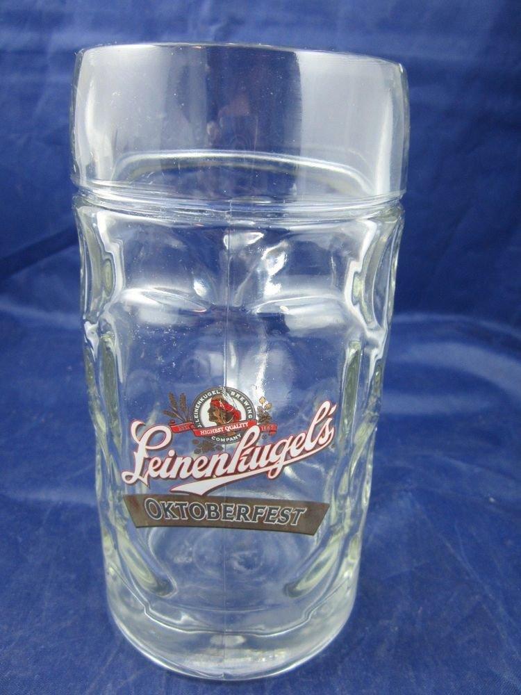 Leinenkugel's Oktoberfest Beer Stein Mug J. Leinenkugel Brewing Company