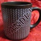 vintage Grandpa mug by Enesco 1985 brown with white writing