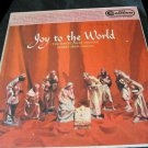 vintage vinyl record: Joy to the World Christmas record~The Robert Shaw Chorale