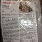 Mary Maxim Needlework Gingerbread Church No 11277 New Plastic Canvas Neddlepoint