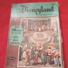 vintage 1965 Disneyland Whitman Jigsaw puzzle Whitman 4611 Walt Disney Mickey