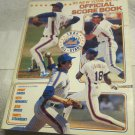 1985 New York Mets vs. LA  Dodgers Official Score Book & Program~1984 All Stars