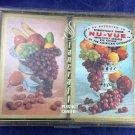 Vintage StanCraft Nu-Vue Playing Cards 2 Decks Bridge Complete Fruit Pink Blue