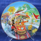 Disneyland 40th Anniversary Bradford Exchange Collectors Plate Mickey's Toontown