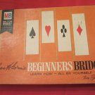 Chas H Goren's Beginners Bridge Milton Bradley 5611 card game Charles Goren