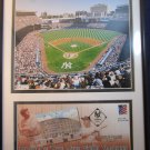 New York Yankees Yankee Stadium photo & April 5 2002 postmarked envelope NY