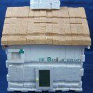 Vintage Folk Art Bank of Ireland made from clothespins Clothespin craft art