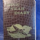 vintage 1945 Diary journal book of a woman or girl Bert Manufacturing Company
