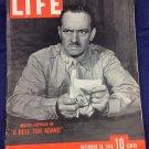 December 18 1944 Life Magazine World War II Major Joppolo A Bell For Adano