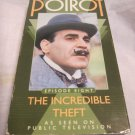 Agatha Christie's Poirot Episode 8:The Incredible Theft VHS video tape/videotap