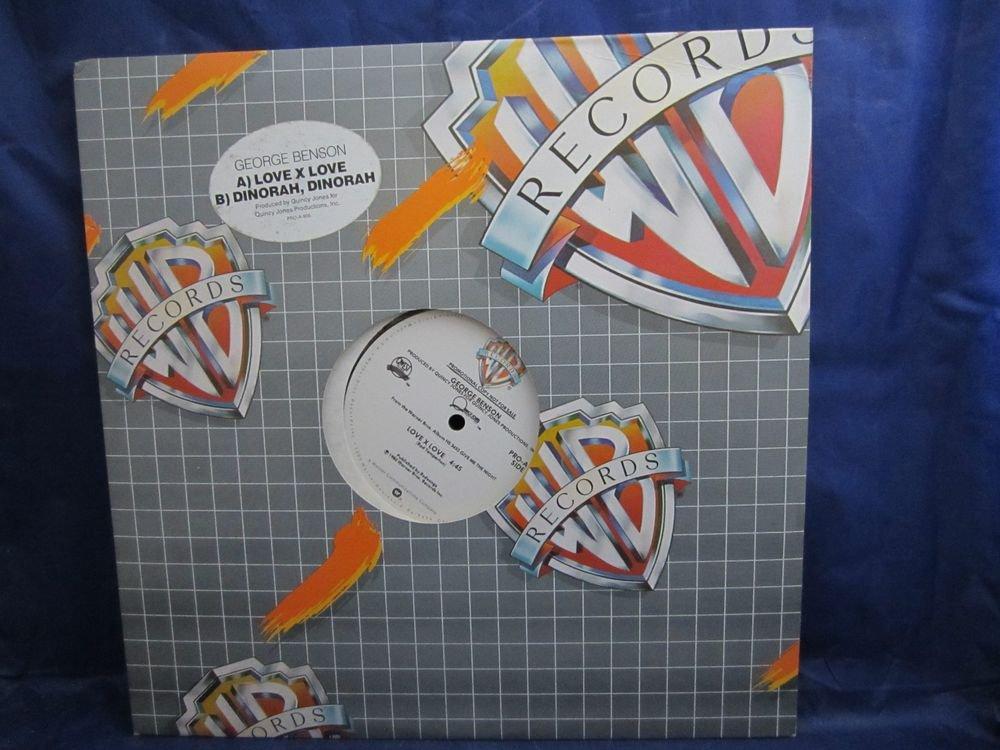 "George Benson Dinorah, Dinorah & Love X 12"" Promo Vintage Record Vinyl LP Album"