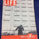 February 14 1944 Life Magazine World War II US Sailor Earl Carroll's Restaurant
