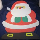vintage Christmas Santa Claus wall decoration/poster