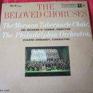 The Beloved Choruses record/vinyl~Mormon Tabernacle Choir~Columbia 6 eye