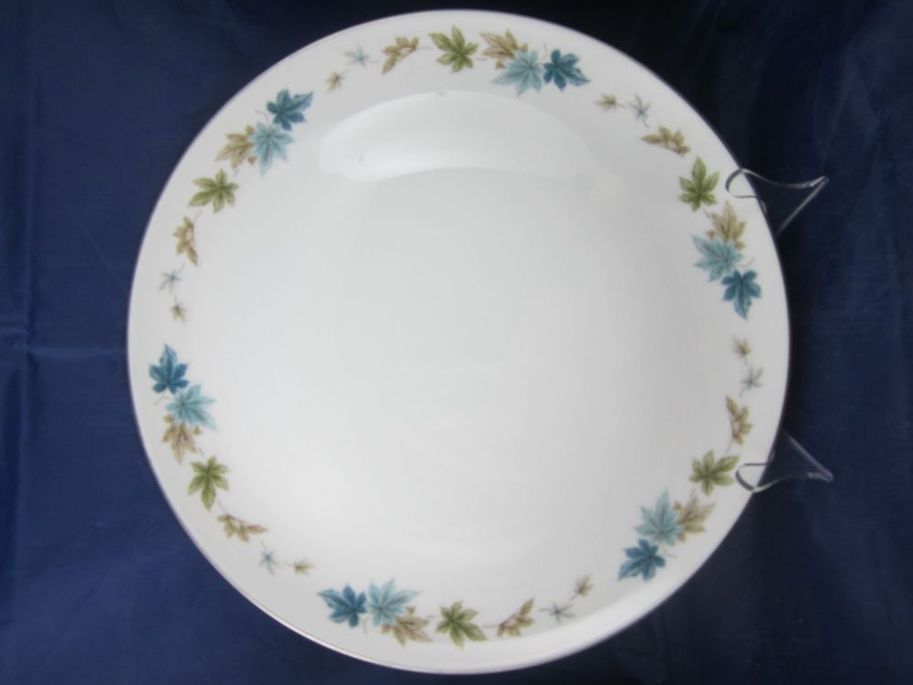 "Vintage Grant Crest Fine China Four Seasons Pattern 12.5"" Serving Plate Dish"