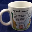 Momma Cartoon Coffee Mug Mell Lazarus Applause Vintage 1988 Nagging Mothers Day