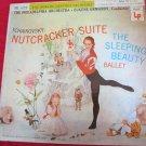 Tchaikovsky Nutcracker Suite/Sleeping Beauty~vintage LP/record~Eugene Ormandy