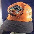 Nascar Ricky Rudd Ford Taurus Tide Baseball Cap Hat Orange Black
