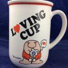 Vintage Ziggy Loving Cup Mug Love Talk Stoneware1981valentine Valentines Day