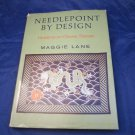 Needlepoint by Design: Variations on Chinese Themes by Maggie Lane vintage book