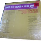 Dance to the Sounds of the Big Bands vol 1 vintage vinyl/record/LP~Bright Orange