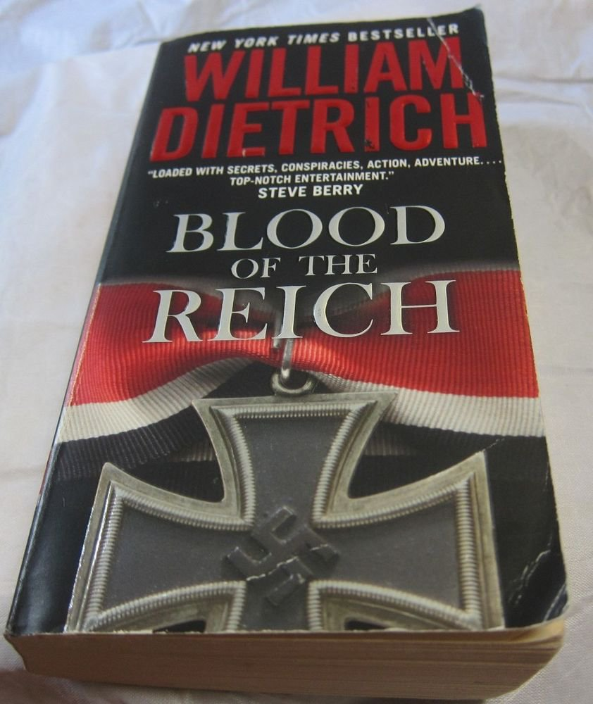 Blood of the Reich by William Dietrich~Paperback book~FREE IS SHIPPING