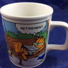 Garfield Retirement Career Change 10 Oz mug vintage 1978 Enesco