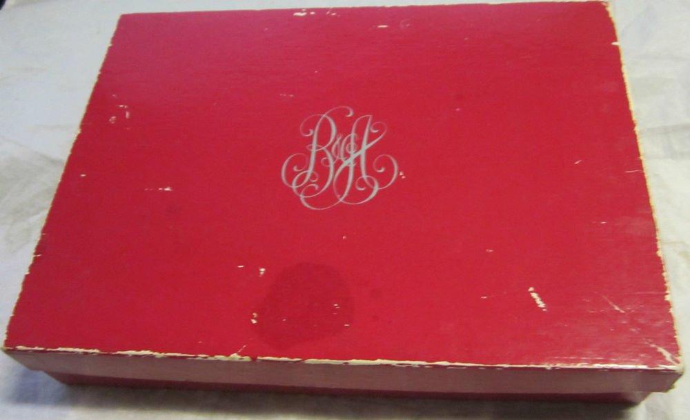 vintage B Altman Department Store gift box~defunct/closed shop~FREE US SHIP