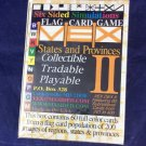 Vex Dex II Flag Card Game States And Provinces Six Sided Simulations new sealed