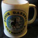 Busch Gardens Clydesdale mug/stein~ceramic vintage souvenir~FREE US SHIPPING