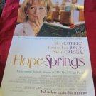 Hope Springs promo movie poster 11.25 x 17~starring Meryl Streep & Steve Carell