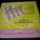 Mantovani A COLLECTION OF FAVORITE WALTZES vintage album/vinyl/record/LP~London