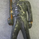 B36 Barclay Toy Soldier~West Point Cadet~gray & short stride~FREE US SHIP