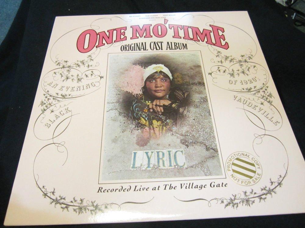 One Mo' Time Original Cast Album~vintage record/LP/vinyl/album~FREE US SHIP