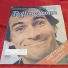 vintage James Taylor cover Rolling Stone newspaper magazine June 11 1981