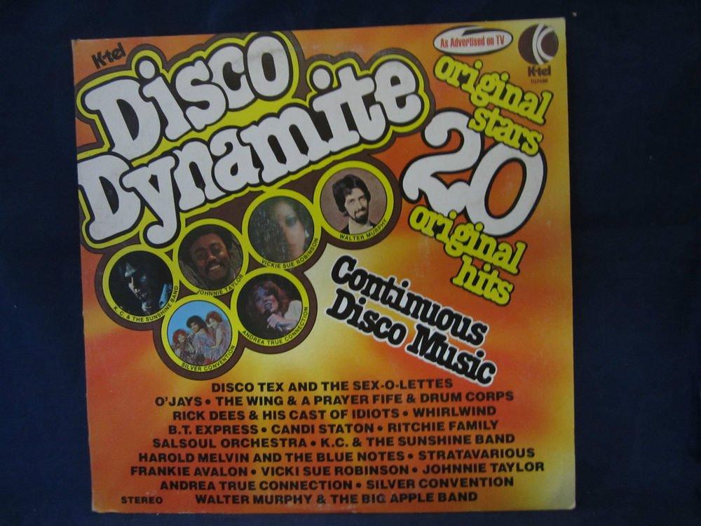 k-Tel Disco Dynamite:20 Original Stars